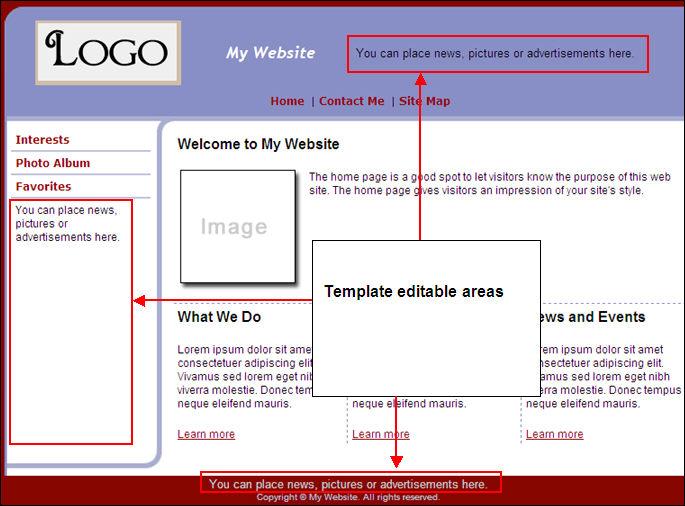 create a duplicate or copy template